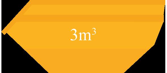 Caçamba 3m³
