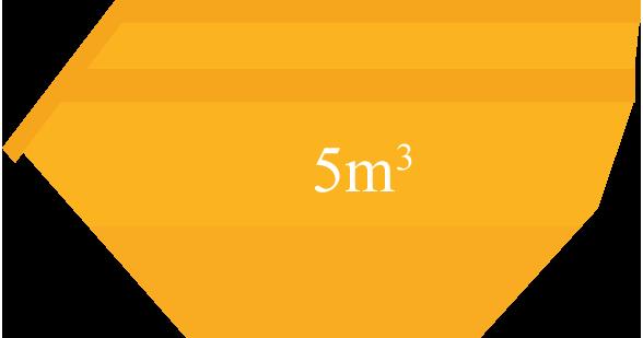 Caçamba 5m³